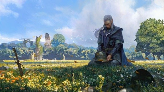 Gwent Harvest Of Sorrow Expansion Is Here - picture of a character in a field of flowers
