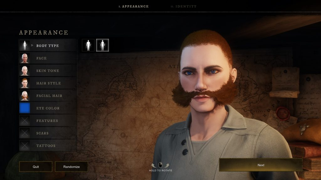 new world character creator