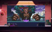Skul Is Slaying Heros On Console This Month - Skul fights a final boss, the elder Ent