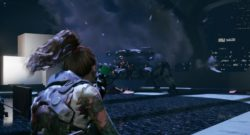 Join The Zombie Squad in Sci-Fi Action Adventure Wanted: Dead - picture of the third person player cahracter shooting